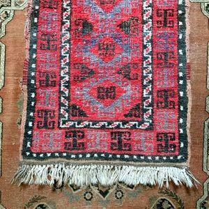 VTG Hand Knotted Turkish Village Rug